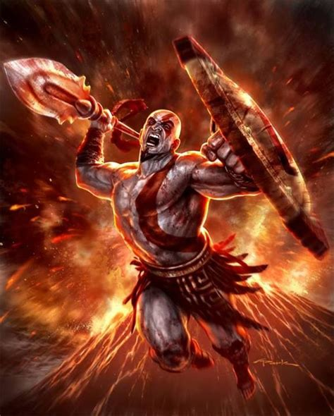 God Of War Ghost Of Sparta By Andy Park Andy Park