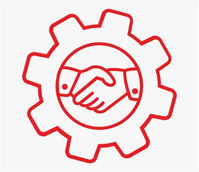 Outsourced Firm Benefits Marketing Management Icon System