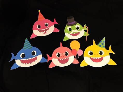 baby shark decorations baby shark party baby shark print