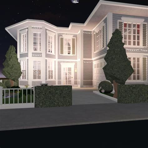 aesthetic house exterior bloxburg beautiful house plans house layouts story