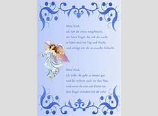 Geburt Gedichte Schutzengelbrief Schutzengelurkunde