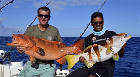 rodrigues mauritius rodfishingclub indian maurice jigging grouper ocean island strike double jig peche ocean indien double