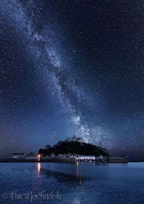 Thk The Milky Way Over Michael Mount Cornwall