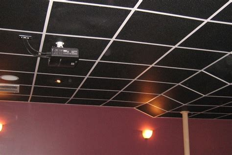 black ceiling tiles variety  options intersource