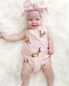 2pcs!!Cute Newborn Toddler Baby Girl Clothes Pink Rabbit ...