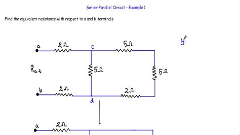 Equivalent Resistance Series Parallel Circuit Youtube