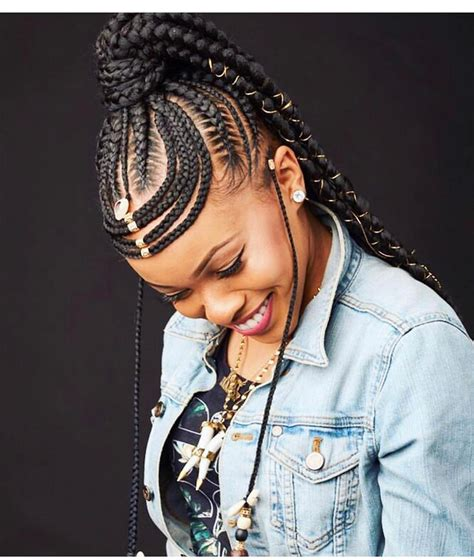 black braided hairstyles trends  captivating ladies