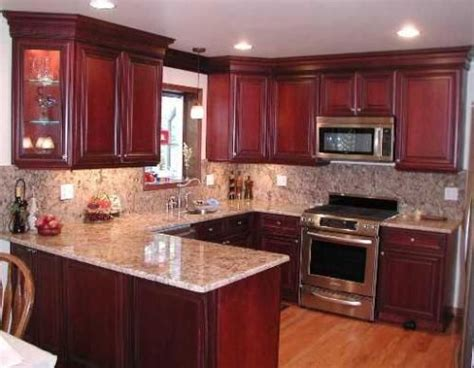 cherry wood cabinets with granite countertop steel grey granite countertops and backsplash with cherry