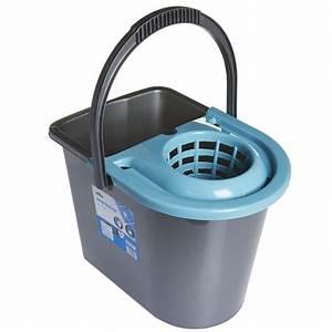 Wilko Mop Bucket with Wringer Teal at wilko.com