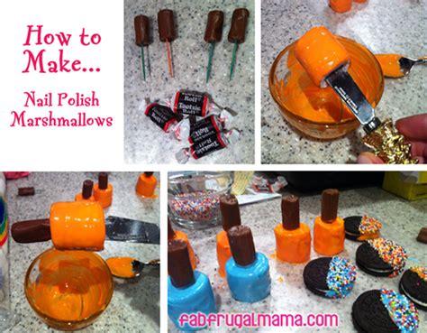 How To Make Fancy Nail Polish Marshmallow Treats