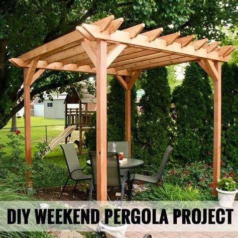 Einfache Pergola Bauen by Simple Pergola Ideas Woodworking Projects Plans