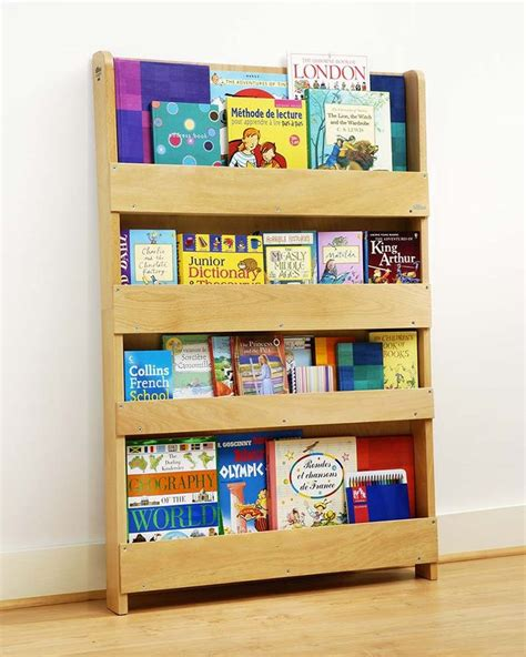 Childrens Bookcase by Tidy Books Children S Front Facing Bookcase White
