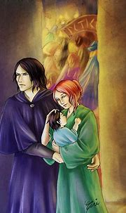 Snape Lily - Cautious Safety by artisteri | Snape and lily ...