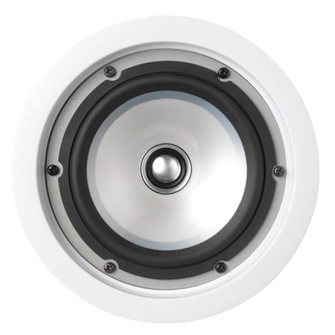 kef angled ceiling speakers kef ci100qr in ceiling speaker