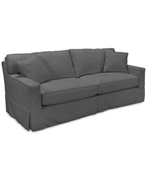 macys sofa covers shawnee 2 seat sofa with slipcover custom colors