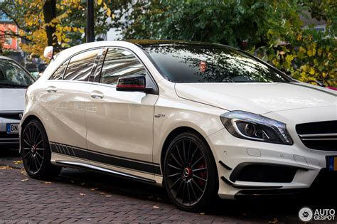 We analyze millions of used cars daily. Mercedes-Benz A 45 AMG Edition 1 - 29 October 2016 - Autogespot
