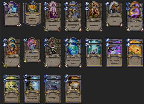 hearthstone decks mage 2016 hearthstone decks mage cthun