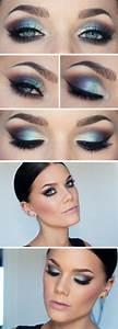 Blaues Augen Make Up Abiball Make Up F R Das Kleid Schminktipps Und