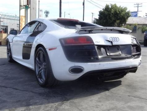 2011 Audi R8 Quattro 5.2l Repairable Salvage Wrecked