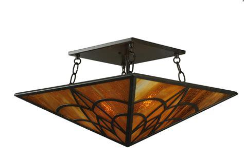 meyda 124548 scottsdale 19 quot semi flush mount ceiling fixture