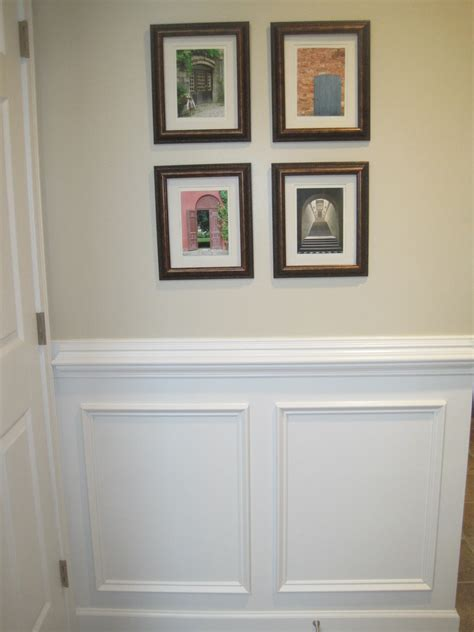 Chair Rail Wainscoting by Designed To Dwell Tips For Installing Chair Rail