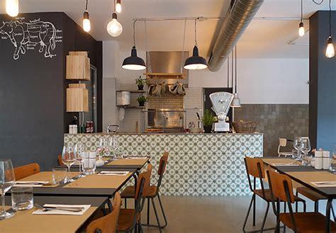 Modern Style Restaurant Interior Design Industrial With