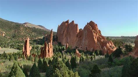 Garden Of The Gods How by Garden Of The Gods Colorado Usa In Hd