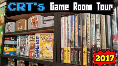 Nintendo Game Room Tour Update 2017 Crts Collection