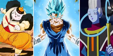 Dragon ball z / cast Strongest & Worthless Dragon Ball Z Characters   ScreenRant