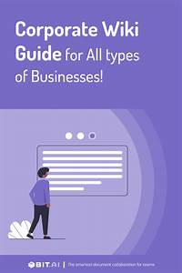 Corporate Wiki Guide For All Types Of Businesses