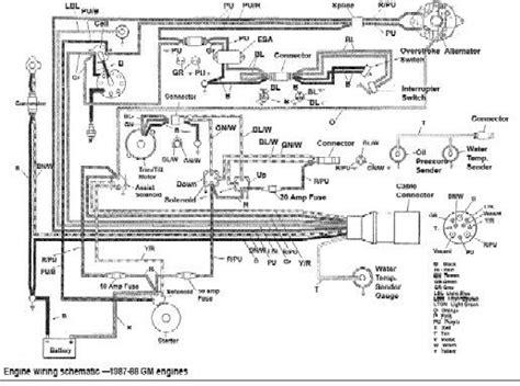 bayliner capri wiring diagram diagram alternator omc