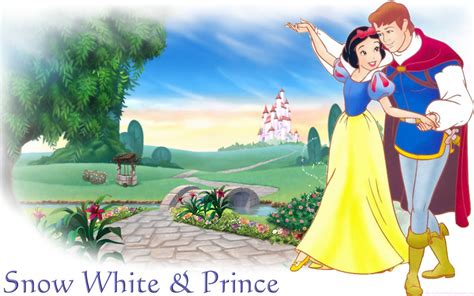 Snow White And The Seven Dwarfs Prince And Snow White