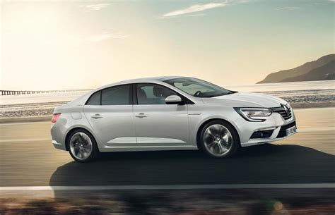 Renault Unveils Sporty New Megane Sedan