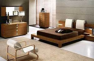 Astounding Home Bedroom Decoration Ideas With Brown Wooden ...