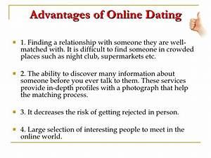 risks of online dating essay