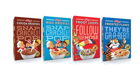 KELLOGGS LIMITED EDITION CEREAL PACKAGING | Anthem