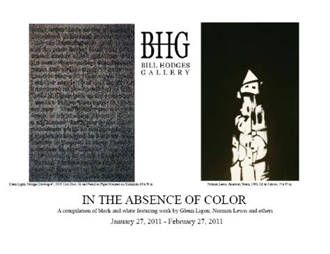 black is the absence of color in the absence of color
