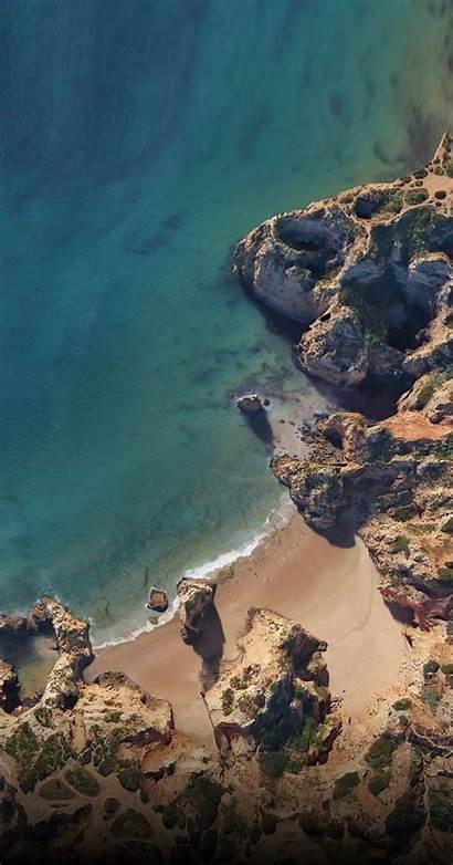 Pixel Google Wallpapers Iphone Xl Ocean Beach