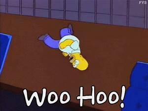 Woo Hoo GIF - Woo Hoo Homer - Discover & Share GIFs