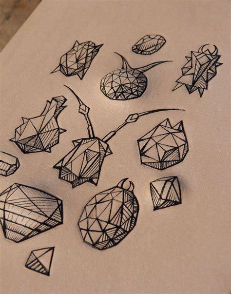 geometric bug gems tattoo idea inked tattoo ideas