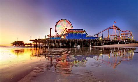 Los Angeles At Night Wallpaper 10 Of The Best Beaches In California