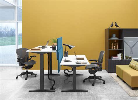 workplace desks product ratio by herman miller design insider