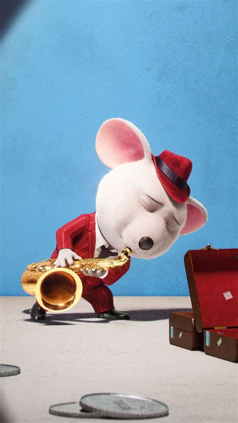 wallpaper sing mouse  animation movies