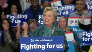 Clinton: Contest between fundamentally different views ...