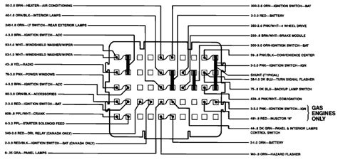 1988 1500 4x4 Chevy Fuse Box Diagram by Want To View Rear Of Fuse Box In A 1991 Chevy Up