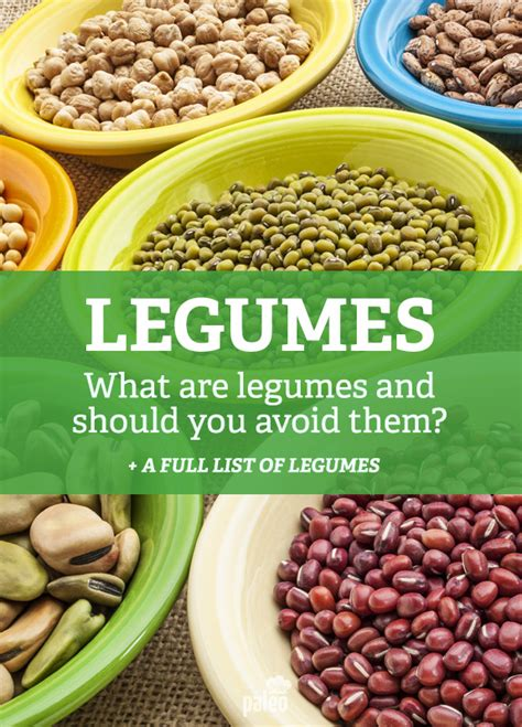 legumes cuisine what are legumes should you avoid them paleo grubs