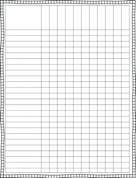 blank checklist template  editable checklist template