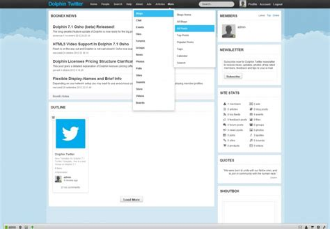Twitter Template For Posts by Twitter Template Giovanni M