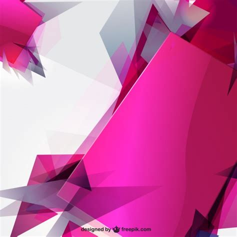 Abstract Shapes Free Vector by Abstract Sharp Shapes Background Vector Free