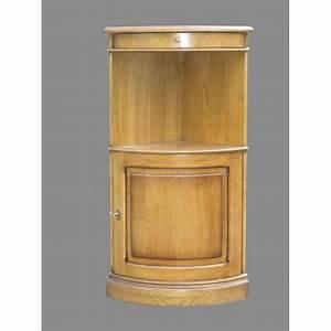 Meuble En Angle : meuble d 39 angle quart de cercle meubles de normandie ~ Edinachiropracticcenter.com Idées de Décoration